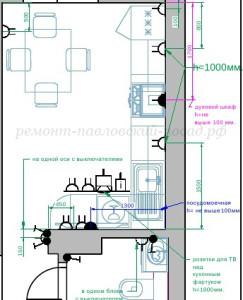 план электропроводки