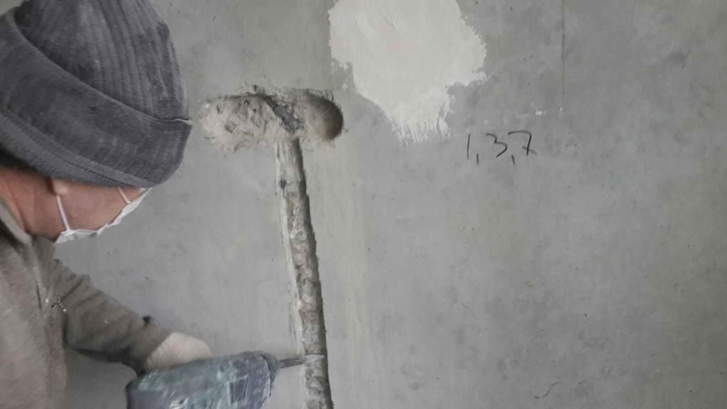 щтробление стен