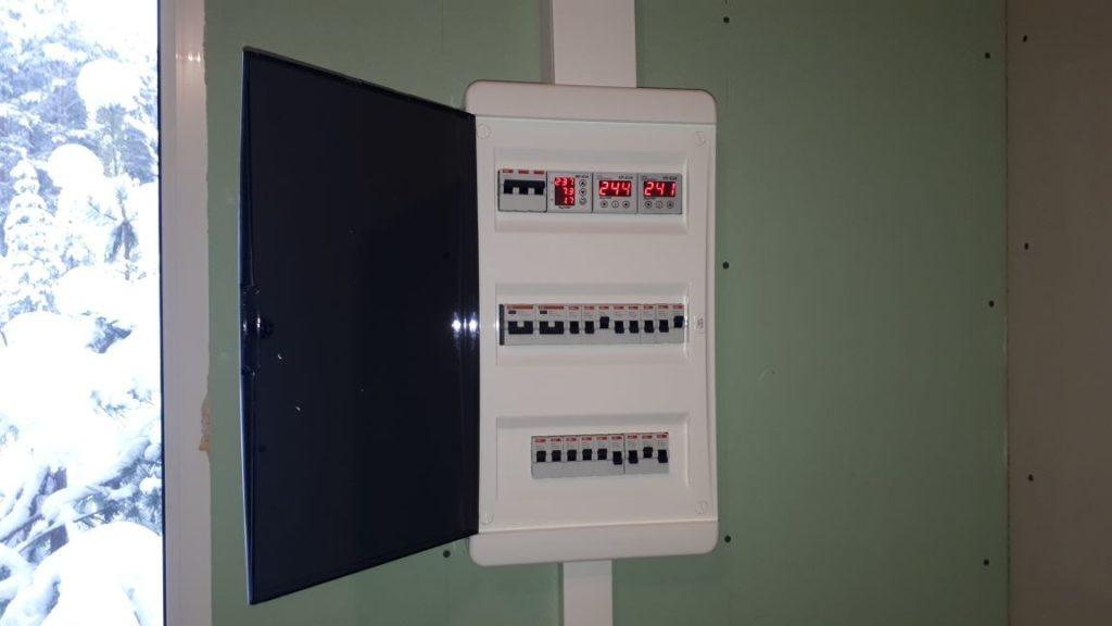 щит электрический на даче
