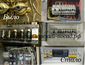 коллаж электрощитков