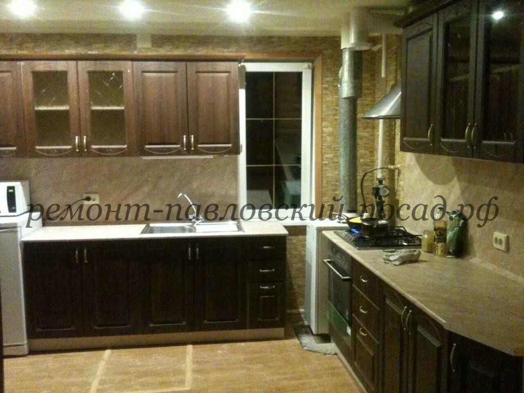 Новая кухня с ремонтом
