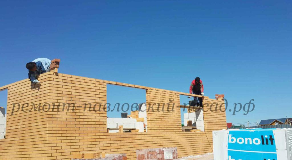 строительство дома из желтого кирпича