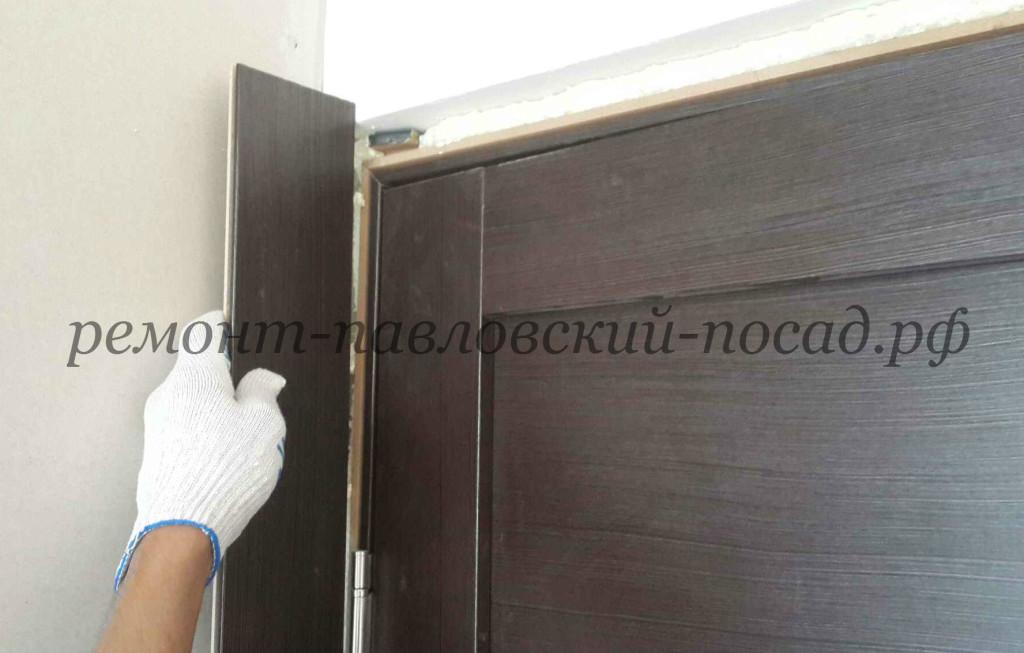 установка двероново добора