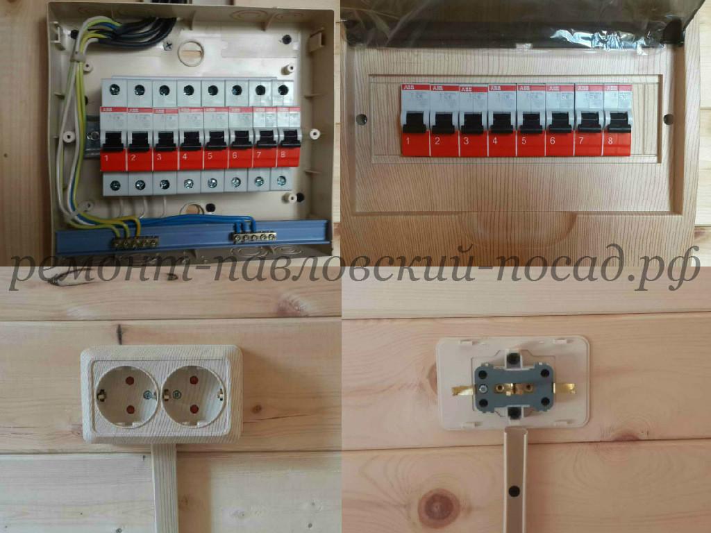 электромонтаж в дачном доме