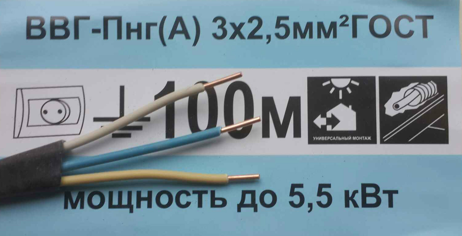 характеристики провода ввгнг