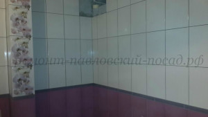 ванная комната уложенная плиткой