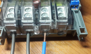 подключение нулевого провода