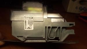 установленный электросчетчик меркурий