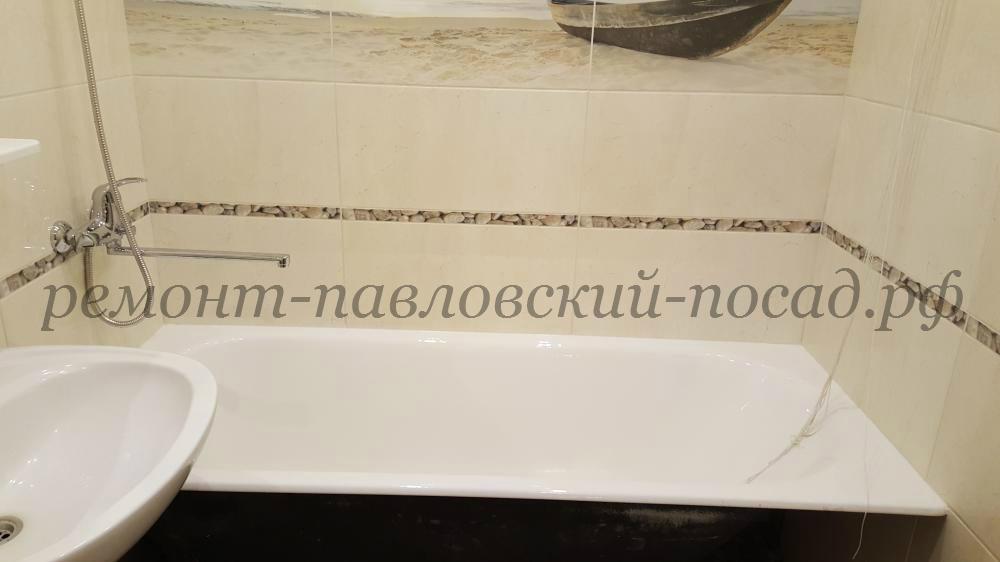 ванная комната с новым ремонтом