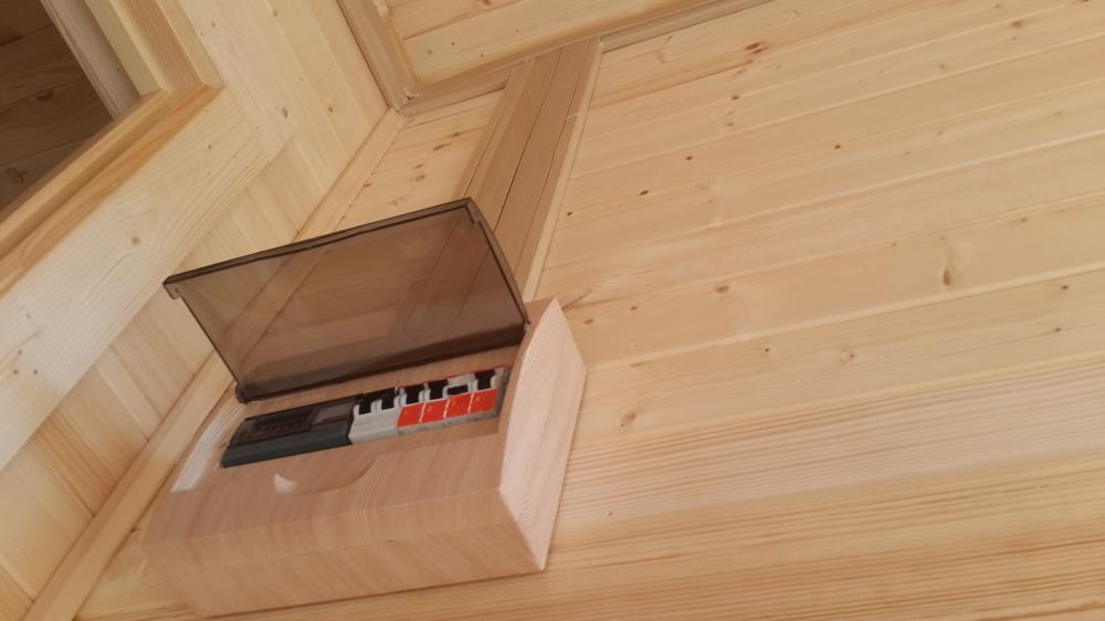 электрощит в деревянном доме