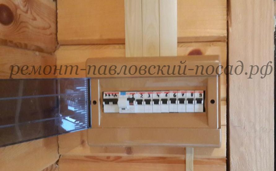 электрический щиток в доме