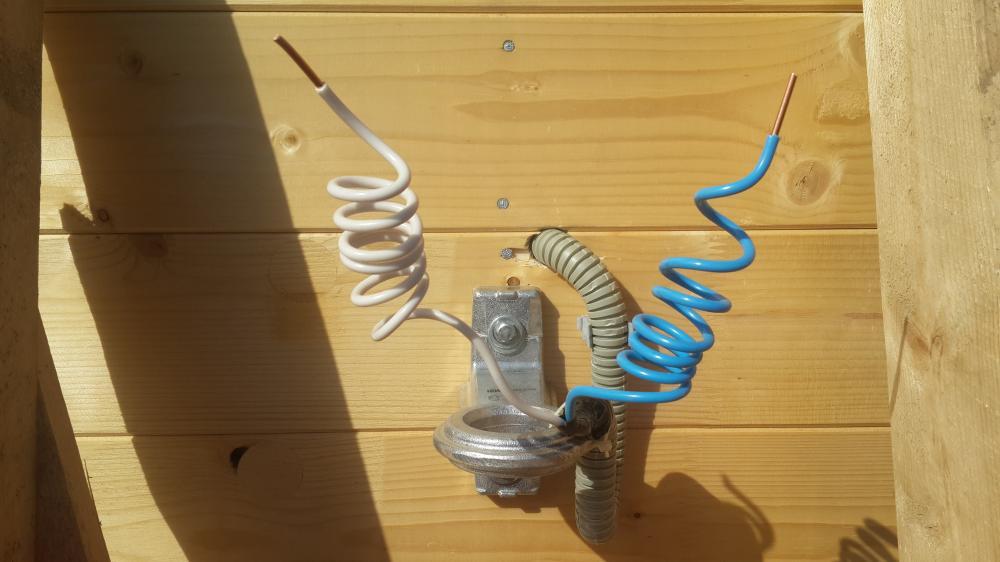 подключения электричества к дому
