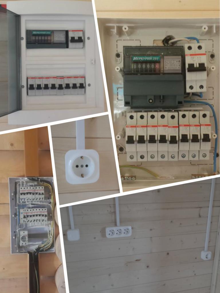 электромонтаж в доме