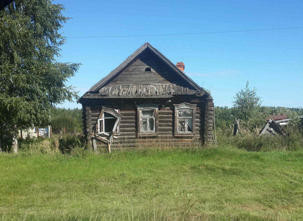 старый дом под снос
