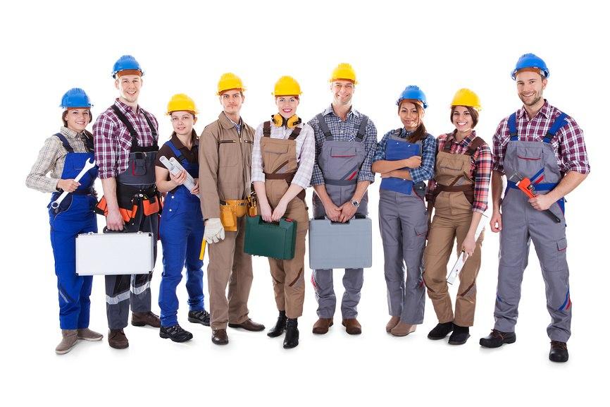 бригада строителей