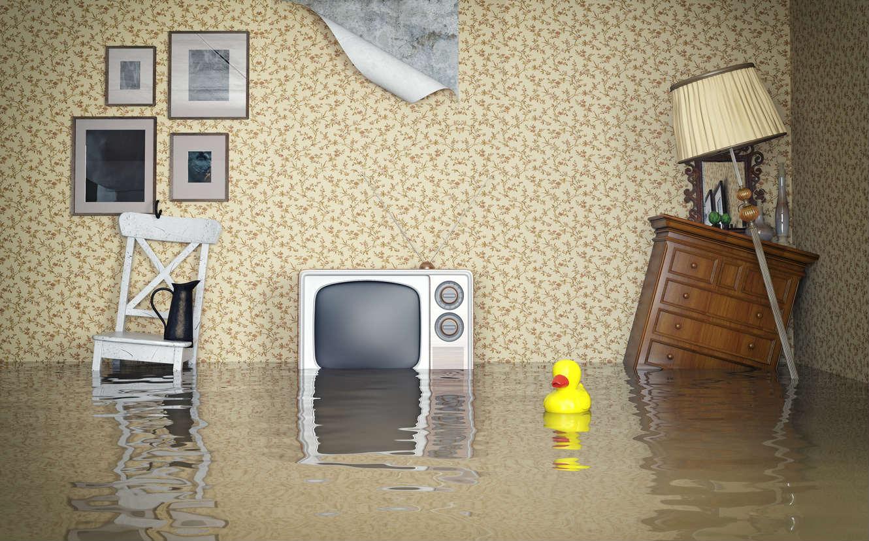 наводнение в квартире
