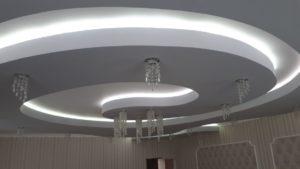 монтаж светодиодного освещения