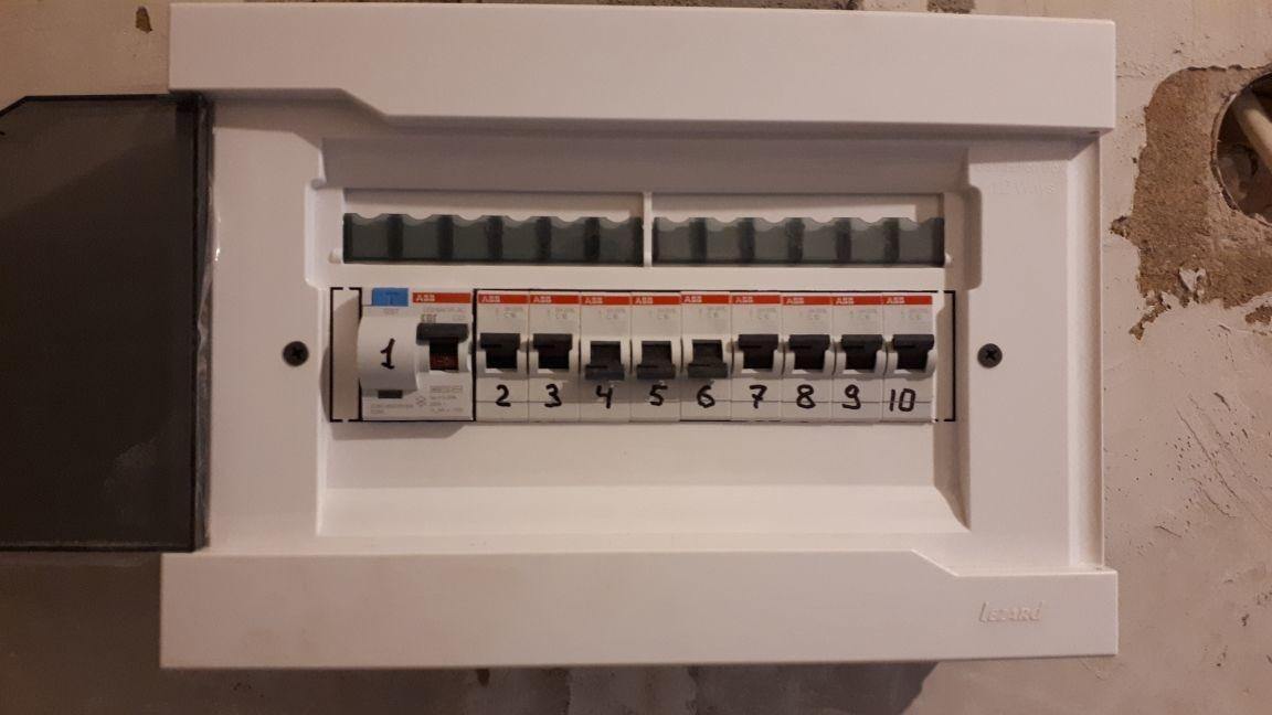 монтаж электрического щитка в балашихе