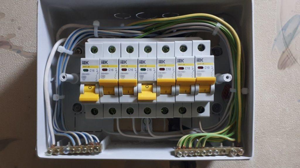 замена проводки в квартире балашихе