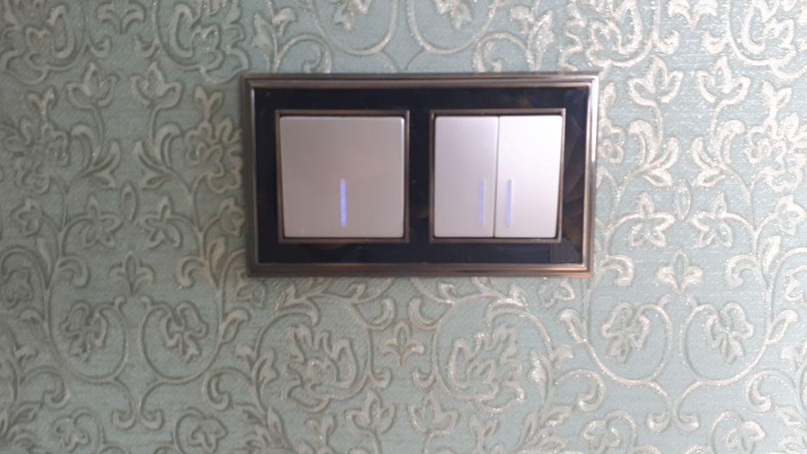 монтаж выключателей освещения в электростали
