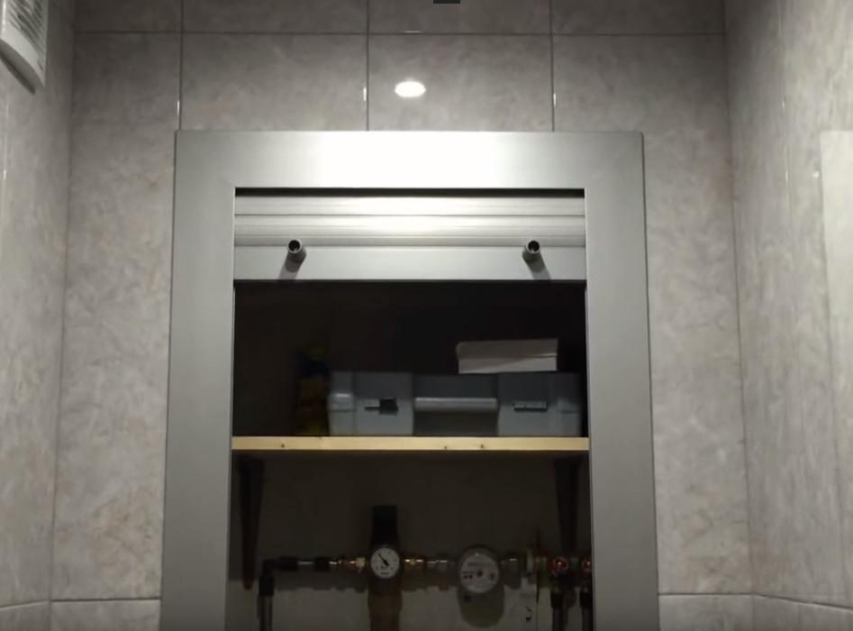 сантехнические рольставни для ванной и туалета