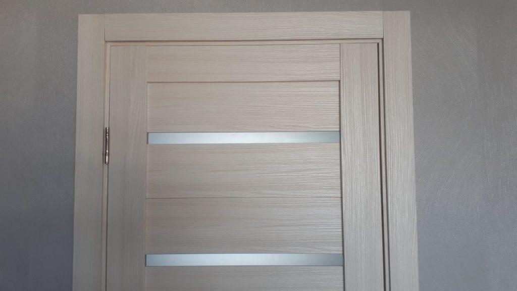 дверная коробка с добором