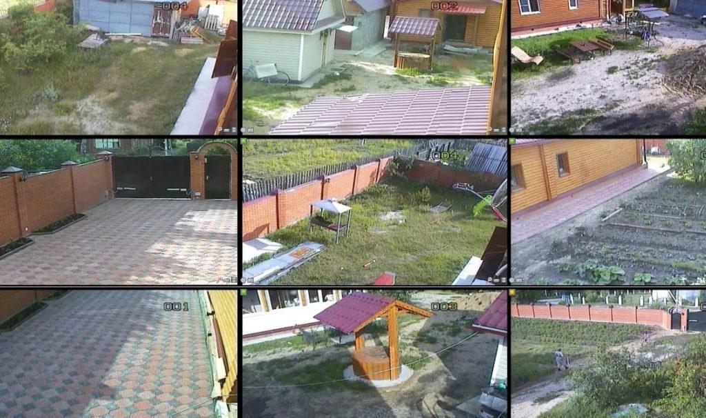 камеры видеонаблюдение да даче