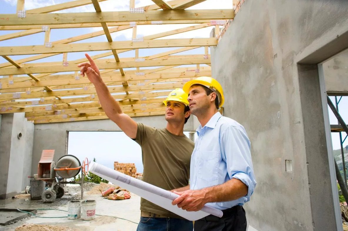 строительство крыши у дома