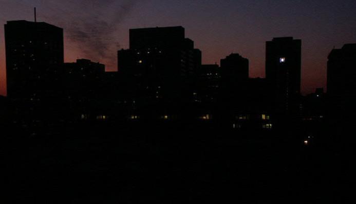 нету света нет во всём квартале