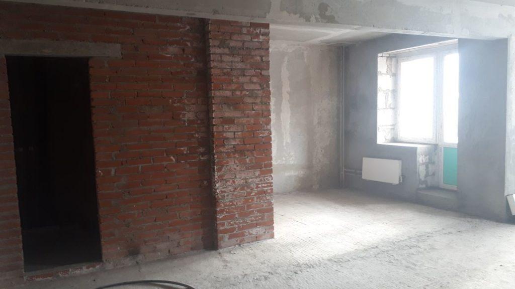 новая квартира без ремонта