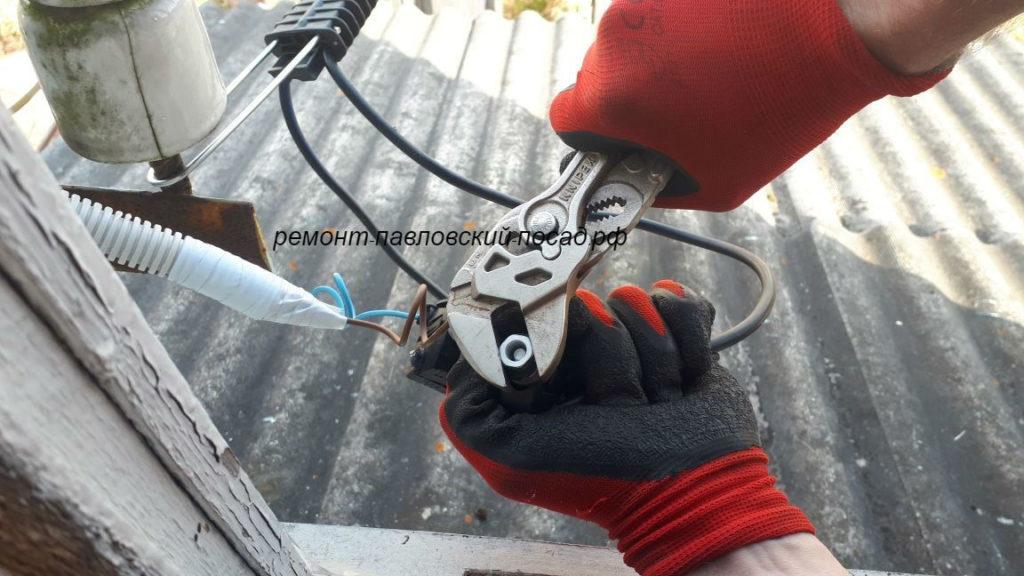 подключения провода сип к медным проводам
