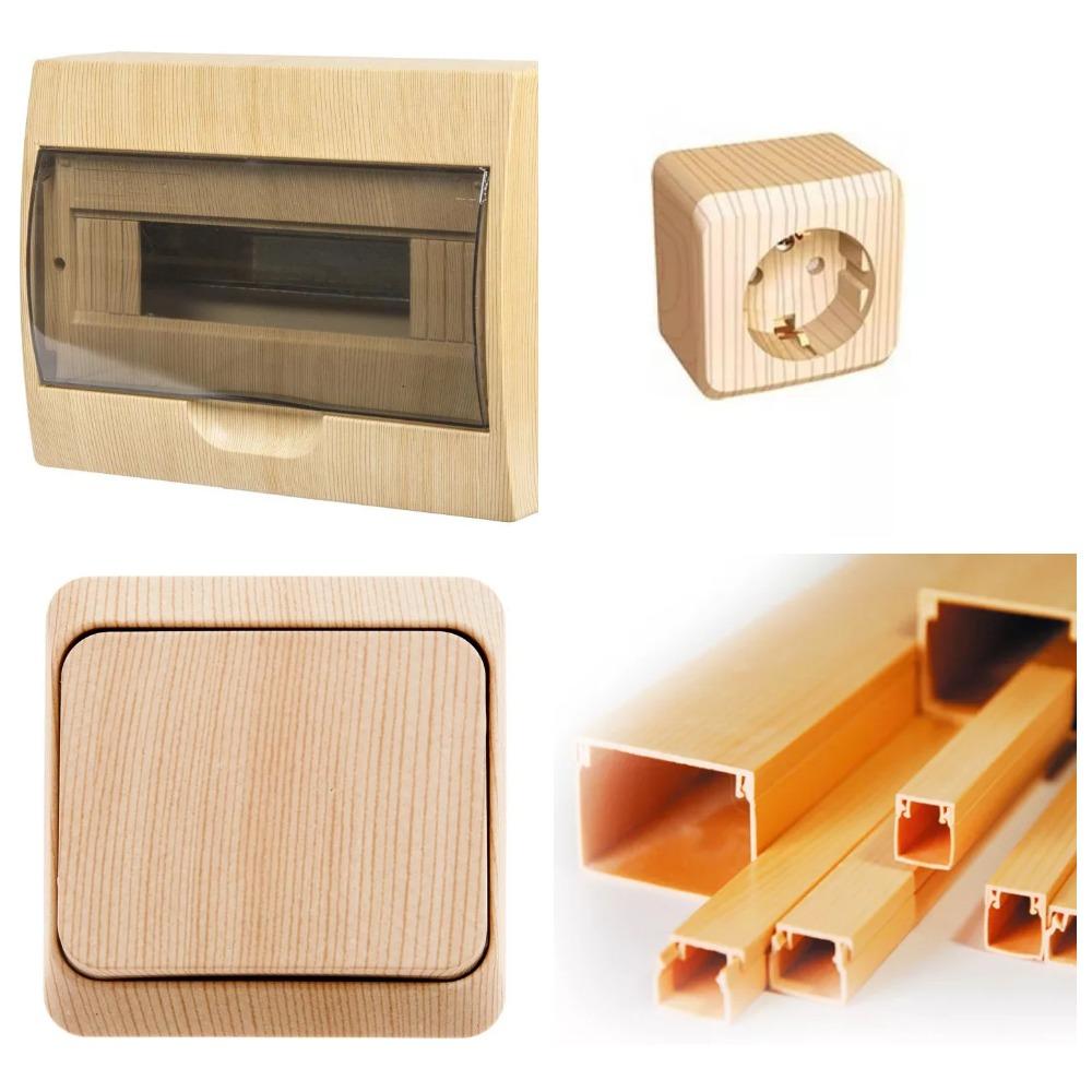 материал для электромонтажа в деревянном доме