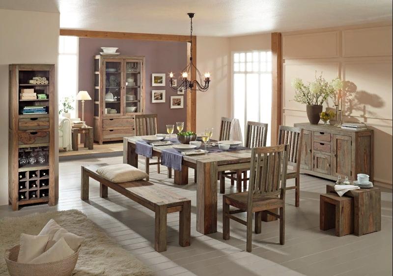 мебель из дерева в квартире