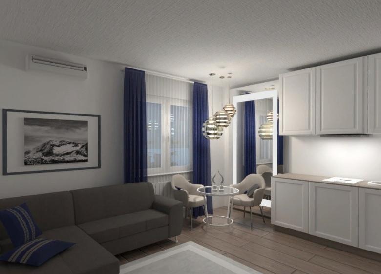 минималистический стиль квартиры