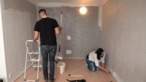эконом ремонт комнаты
