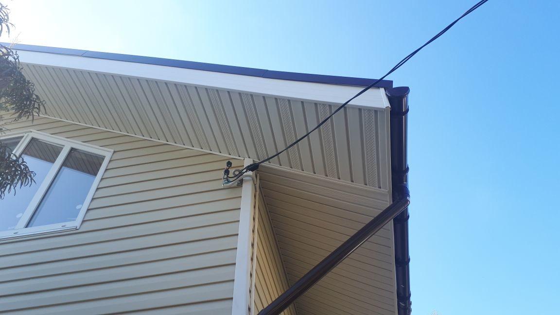ввод электричества в дом через сайдинг
