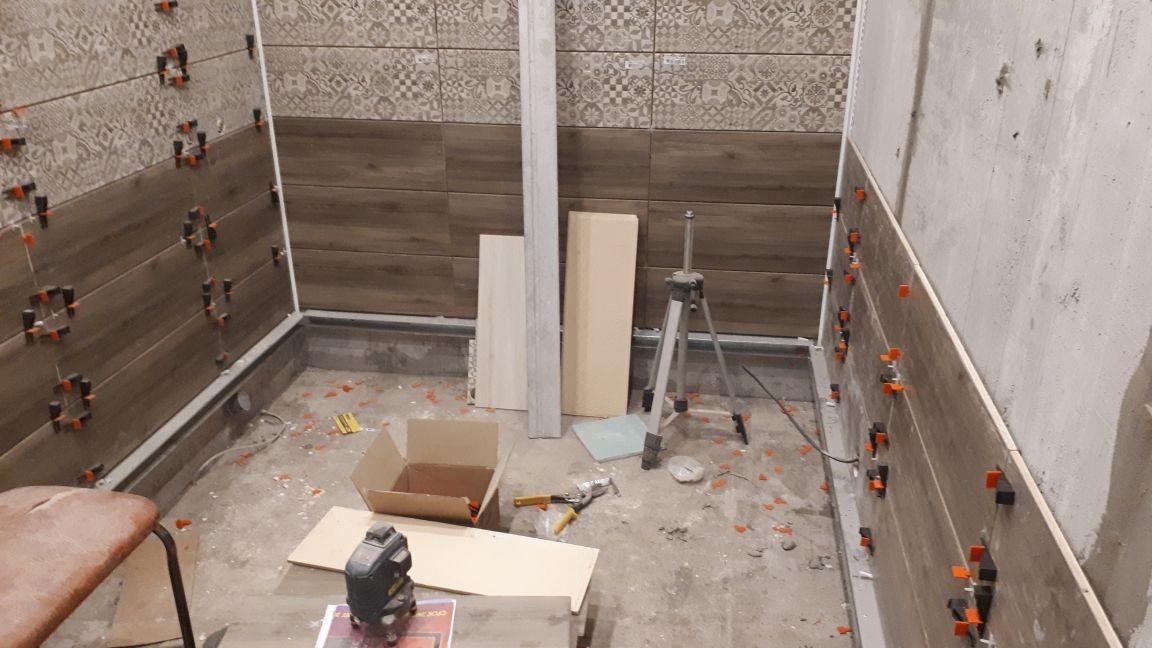ремонт ванной плиткой в электростали