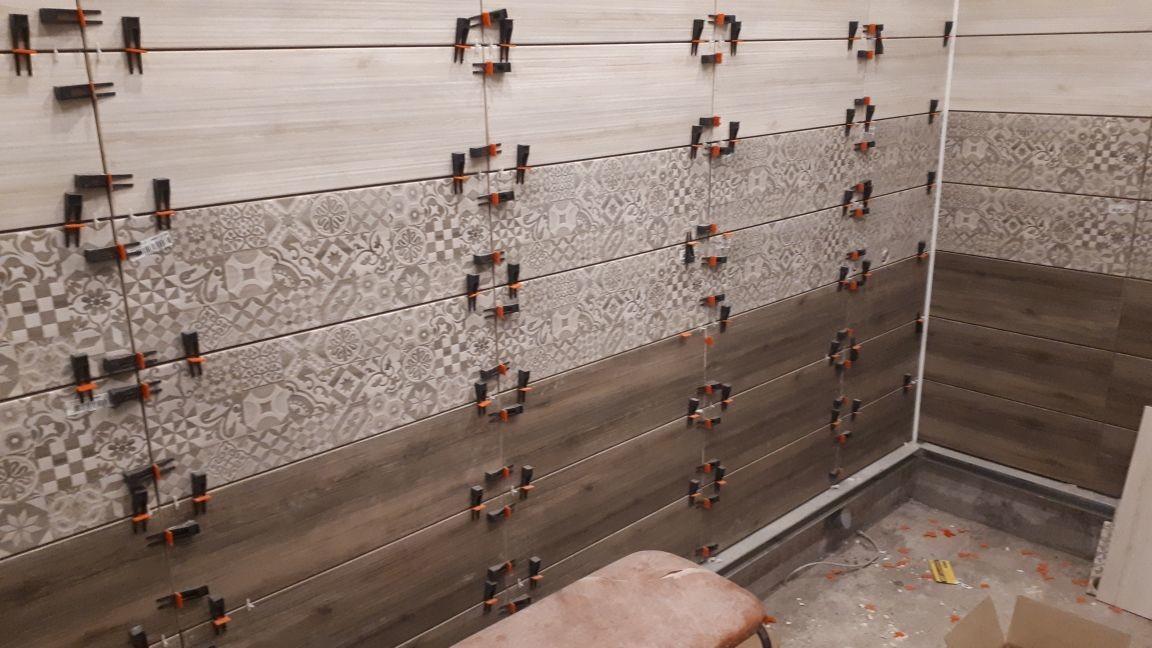 отделка стен ванной комнаты в электростали
