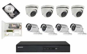 комплект видеокамер