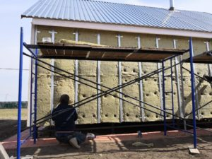 утепление стен перед обшивкой сайдингом