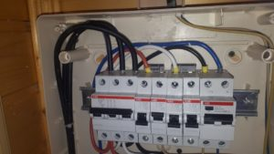 ввод кабеля сип в электрощиток