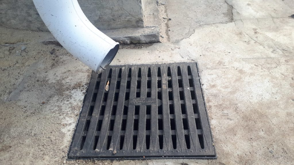 дождевая канализация