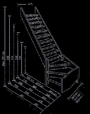 3d макет лестницы