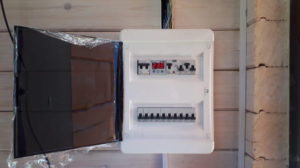 сборка электрощита в доме